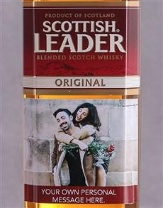 gifts: Personalised Photo Scottish Leader!