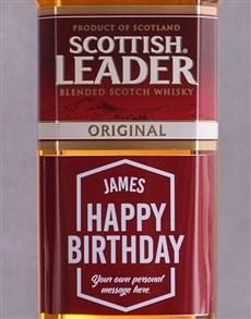 gifts: Personalised Birthday Scottish Leader!
