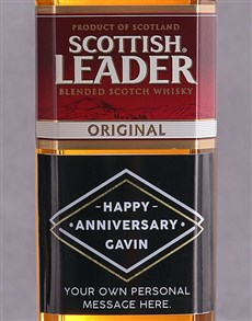gifts: Personalised Anniversary Scottish Leader!