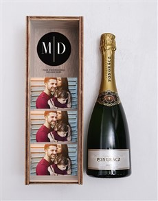 gifts: Personalised Photobooth Bubbly Crate!