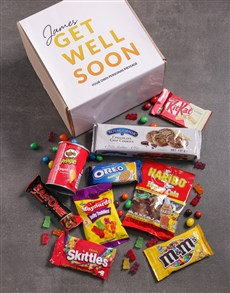 Picture of Personalised Get Well Gourmet Box!