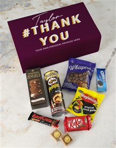 gifts: Personalised Thank You Gourmet Giftbox!