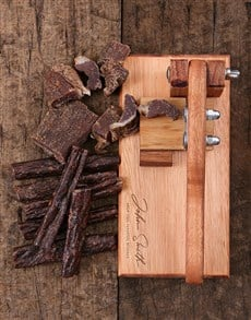 gifts: Personalised Signature Biltong Cutter!