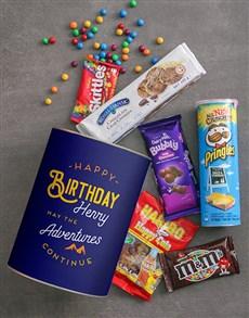 gifts: Personalised Birthday Adventures Bro Bucket!
