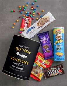 gifts: Personalised Gentleman Adventurer Bro Bucket!
