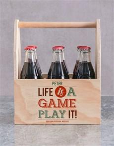 gifts: Personalised Game of Life Printed Beer Crate!