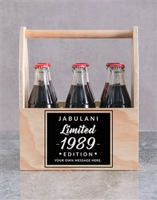 gifts: Personalised Limited Edition Printed Beer Crate!