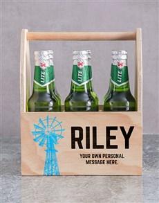 gifts: Personalised Karoo Printed Beer Crate!