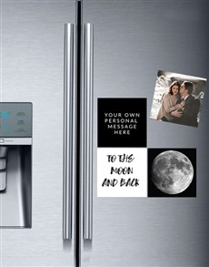 gifts: Personalised Luna Fridge Magnets!
