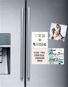 gifts: Personalised Gym and Tonic Fridge Magnets!