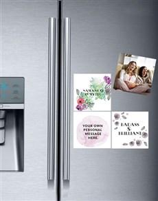 gifts: Personalised Namastay Fridge Magnets!