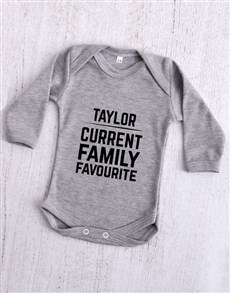 gifts: Personalised Current Family Favourite Onesie!