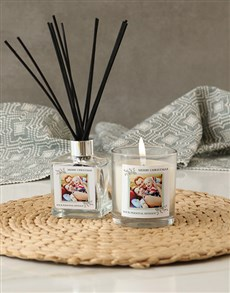 gifts: Personalised Merry Christmas Photo Candle!