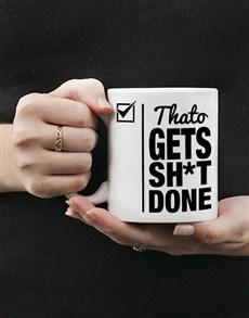 gifts: Get Done Mug Personalised!
