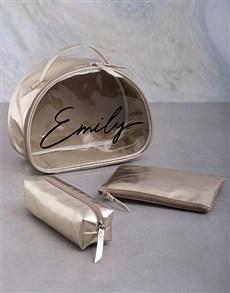 gifts: Personalised Name 3 Piece Vanity Set!