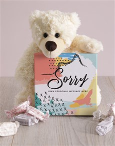 gifts: Personalised Sorry Box of Nougat!
