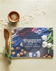 gifts: Personalised Shabbat Chopping Board!