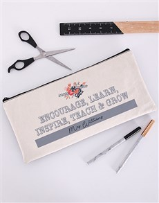 gifts: Personalised Encourage Pencil Bag!