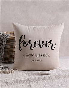 gifts: Personalised Forever Scatter Cushion!
