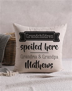 gifts: Personalised Happy Grandchildren Scatter Cushion!