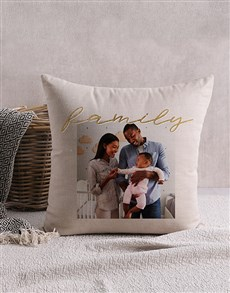 gifts: Personalised Family Photo Scatter Cushion!