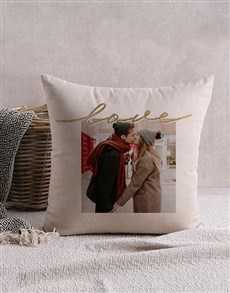 gifts: Personalised Love Photo Scatter Cushion!