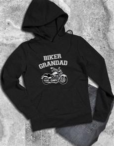 gifts: Personalised Biker Black Hoodie!