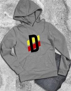 gifts: Personalised Racing Stripe Hoodie!