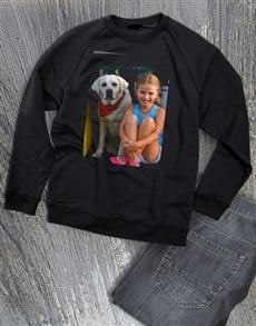 gifts: Personalised Photo Ladies Sweater!