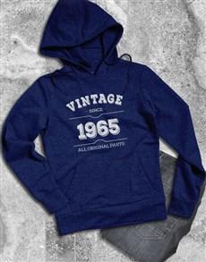 gifts: Personalised Vintage Mens Hoodie!