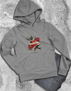 gifts: Personalised Tattoo Swallows Hoodie!