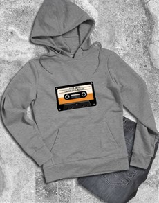 gifts: Personalised Cassette Hoodie!