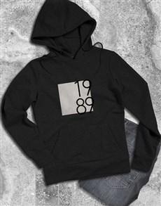 gifts: Personalised Year Block Hoodie!