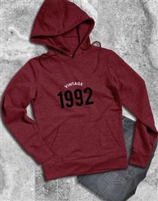 gifts: Personalised Vintage Year Hoodie!