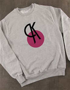gifts: Personalised Deco Initial Ladies Sweater!