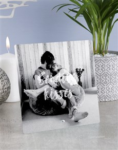 gifts: Personalised Sending Kisses Glass Tile !