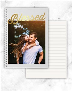 gifts: Personalised Photo Blessed Notebook!