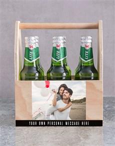 gifts: Personalised Photo Printed Beer Crate!