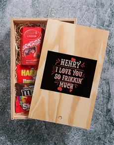 gifts: Personalised Frikken Man Crate!