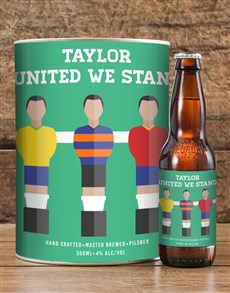 Picture of Personalised Stand United Craft Beer!