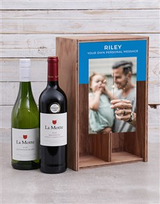 gifts: Personalised La Motte Wine Duo Crate!