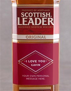 gifts: Personalised I Love You Scottish Leader!