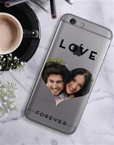 gifts: Personalised Heart Photo iPhone Cover!