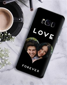 gifts: Personalised Heart Photo Samsung Cover!