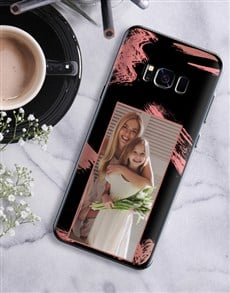 gifts: Personalised Brushstroke Photo Samsung Cover!
