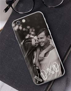 gifts: Personalised XO Photo iPhone Cover!