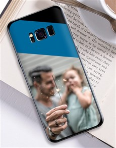gifts: Personalised Colour Block Photo Samsung Cover!