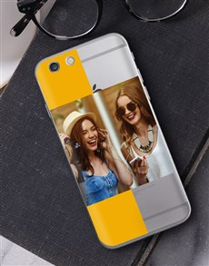 gifts: Personalised Stripe Photo iPhone Cover!