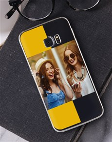 gifts: Personalised Stripe Photo Samsung Cover!