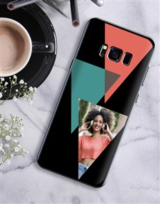 gifts: Personalised Triangle Photo Samsung Cover!